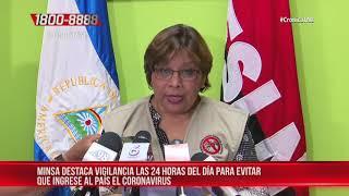 MINSA aumenta la vigilancia sanitaria en puestos fronterizos de Nicaragua
