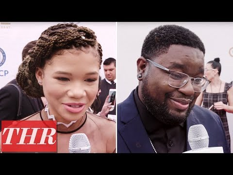 connectYoutube - Danielle Brooks, Storm Reid, & Lil Rel Hower Share 'Black Panther' Viewing Plans | NAACP Awards 2018