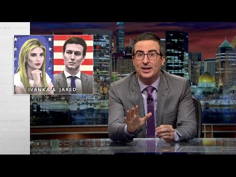 connectYoutube - Ivanka & Jared: Last Week Tonight with John Oliver (HBO)