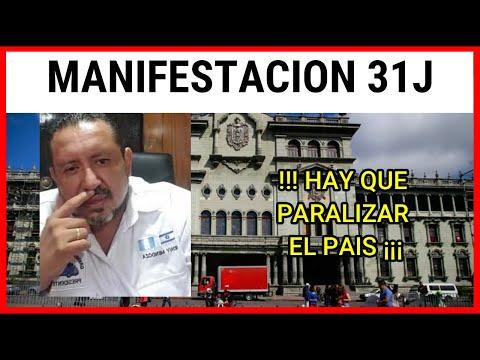 RONY MENDOZA CONVOCA A MANIFESTACION SABADO 31 DE JULIO 2021