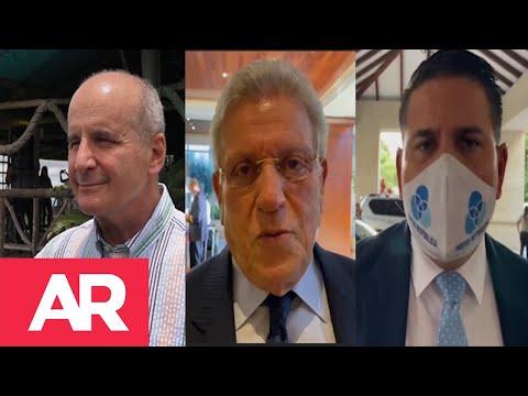 Figueres, Araya y Alvarado evitan decir si Rodrigo Chaves debe renunciar ante sanción por acoso