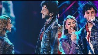 Quimica en la Participación de Sebastian Yatra y Danna Paola en premios juventud 2020 No Bailes Sola
