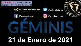 Horóscopo Diario - Géminis - 21 de Enero de 2021.