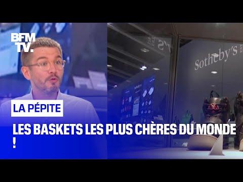 Les baskets les plus chères du monde !