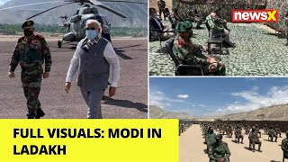 Full Visuals | Modi in Ladakh  | NewsX - NEWSXLIVE