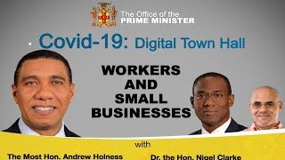 Covid-19:Digital Town Hall focusing on our Workers and Small Businesses.