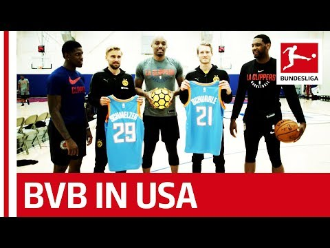 Pulisic, Schürrle & BVB in LA – Meeting LA Clippers, Steve Nash & More