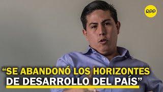 """Zavaleta: """"Es preocupante, Pedro Castillo es un riesgo para la democracia igual que Keiko Fujimori"""""""
