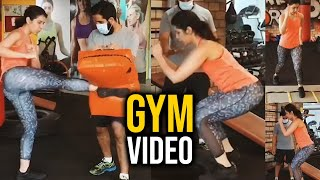 Raashi Khanna Gym Video | Actress #RaashiKhanna Latest Workout | Telugu Actress Gym Videos | TFPC - TFPC