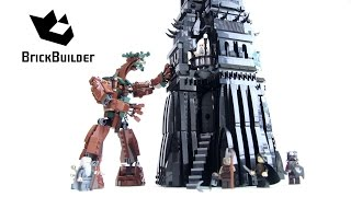 Lego LOTR 10237 The Tower of Orthanc - Lego Speed Build