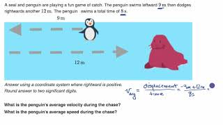 Another average velocity and speed example