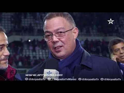 تصريح رئيس الجامعة فوزي لقجع بخصوص قضية منير الحدادي