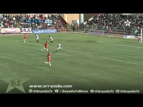 شباب أطلس خنيفرة 2-0 اولمبيك اسفي هدف هشام مرشاد