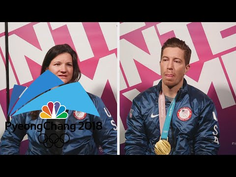 connectYoutube - Five time Olympian Kelly Clark praises Shaun White's career
