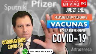 VACUNAS  EN LA ENFERMEDAD COVID-19- RESPONDIENDO PREGUNTAS