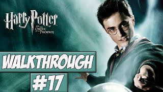 Harry Potter And The Order Of The Phoenix - Walkthrough Ep.17 w/Angel - The Final Swamp!