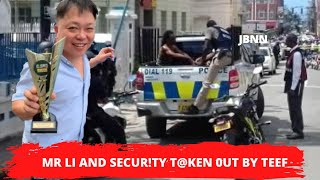 Chinese Businessman & Security Guard Mvrd3r3d Near MoBay P0LICE Station/JBNN