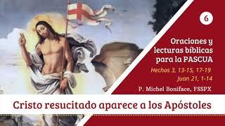 6 Cristo resucitado aparece a los Apo?stoles | Miércoles de Pascua