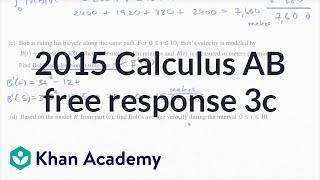 2015 AP Calculus AB/BC 3cd