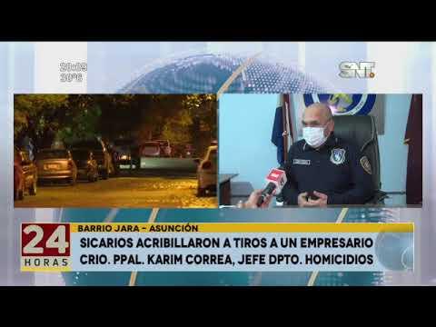 Sicarios acribillaron a tiros a un empresario en Bo. Jara