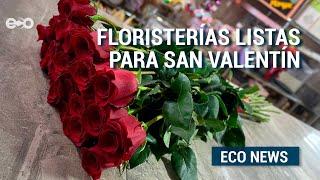 Floristerías están listas para entregas a domicilio por San Valentín  | Eco News