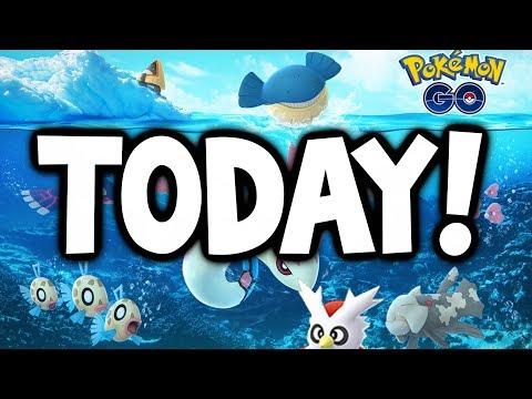 connectYoutube - SHINY LUDICOLO LOOKS AMAZING! - 2nd Gen 3 Wave TODAY in Pokémon GO! (Pokémon GO Christmas Update)