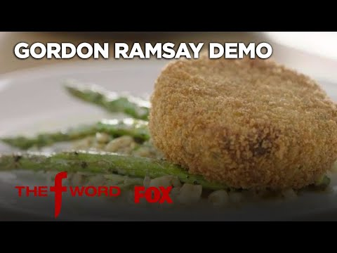 Gordon Ramsay Demonstrates How To Make Crab Cakes: Extended Version   Season 1   THE F WORD