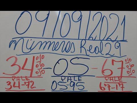 NUMEROS PARA HOY 09/09/2021 DE SEPTIEMBRE PARA TODAS LAS LOTERIAS