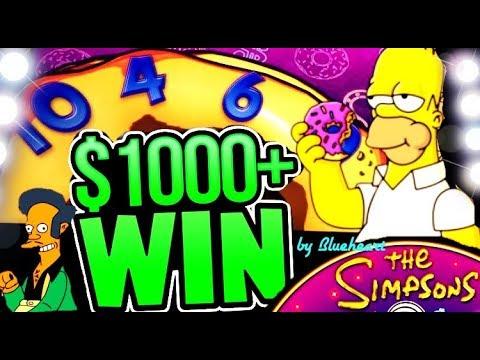 connectYoutube - ★ AMAZING RUN! ★ SIMPSONS slot machine FEATURES and BONUS BIG WINS!