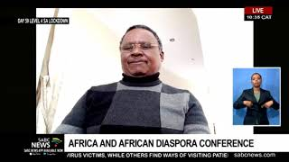 Rev Frank Chikane on the Africa and African Diaspora Conference