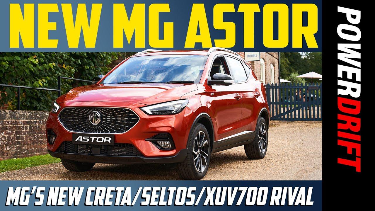 MG Astor   The Creta/Seltos/XUV700's biggest rival yet?   PowerDrift