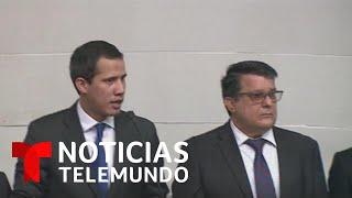 Diputados de oposición retoman la Asamblea Nacional en Venezuela   Noticias Telemundo