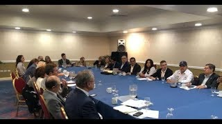 Medardo Mairena denunció ante eurodiputados las violaciones a DD.HH