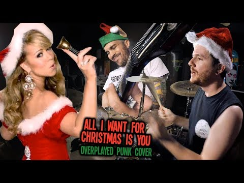 connectYoutube - All I Want For Christmas is You (Mariah Carey Overplayed Punk Cover) - Kye Smith & Feff