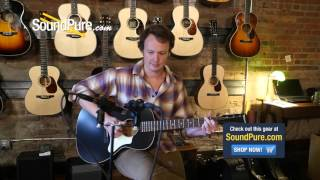 Waterloo by Collings WL-14 L TR Spruce/Mahogany Acoustic - Quick n' Dirty