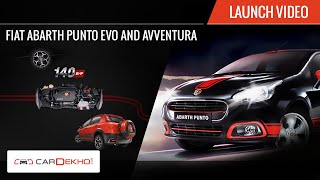 Fiat Abarth Punto and Avventura | Launch Video | CarDekho.com