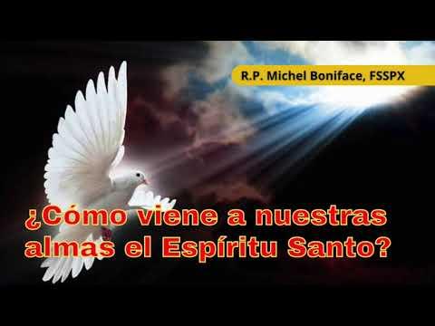 ¿Cómo viene a nuestras almas el Espíritu Santo