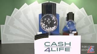 Sorteo del 24 de Marzo del 2020 (Cash4Life, Cash 4 Life, Cash Four Life, CashFourLife)