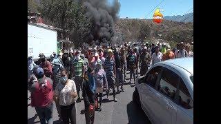Se toman crematorio municipal exigiendo alimentos durante la cuarentena