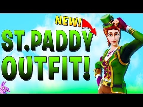 *NEW OUTFITS* ST PADDY SKINS - SGT GREEN CLOVER - Fortnite Gameplay