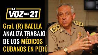 """Gral. José Baella: """"Los órganos de inteligencia deben prever riesgos"""""""