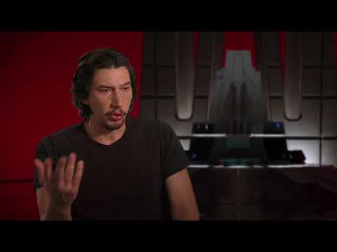 Star Wars: The Last Jedi: Adam Driver