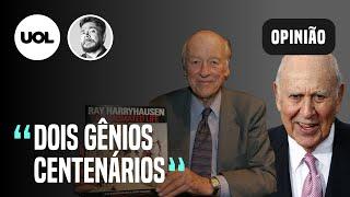 SADOVSKI: CARL REINER E RAY HARRYHAUSEN, DOIS GÊNIOS CENTENÁRIOS