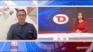 #Telediario | Entrevista a David Larreátegui, Especialista de Infectología