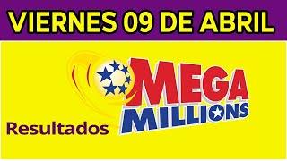 Resultados del sorteo Megamillones del Viernes 9 de Abril de 2021