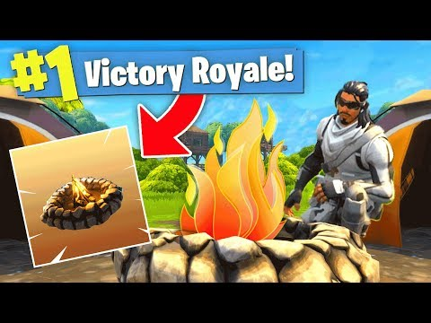 NEW COZY CAMPFIRE UPDATE!! (Fortnite Battle Royale)