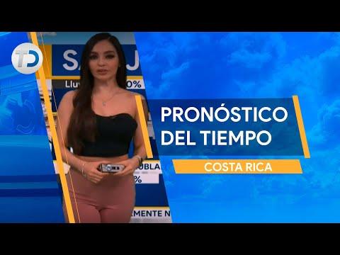 Pronóstico del tiempo Costa Rica 14 de octubre
