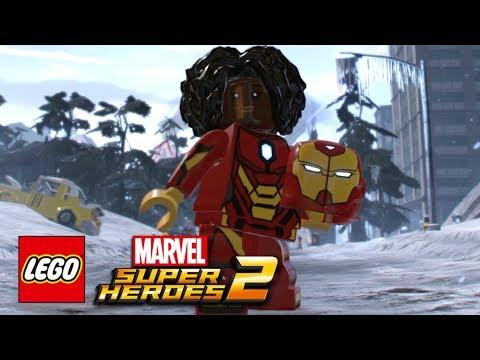 LEGO Marvel Super Heroes 2 - Ironheart Free Roam Gameplay Showcase