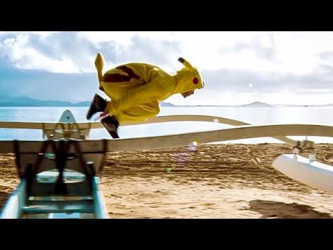 connectYoutube - Pokémon GO Parkour!  The Death of Pikachu?