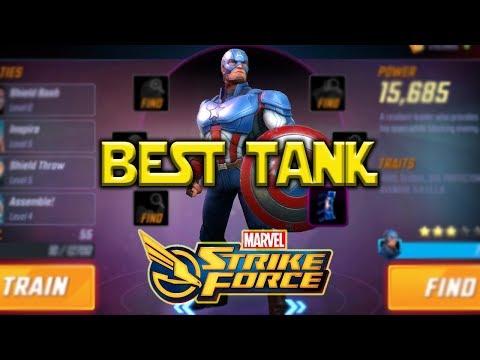 Captain America Best Tank | Marvel Strike Force